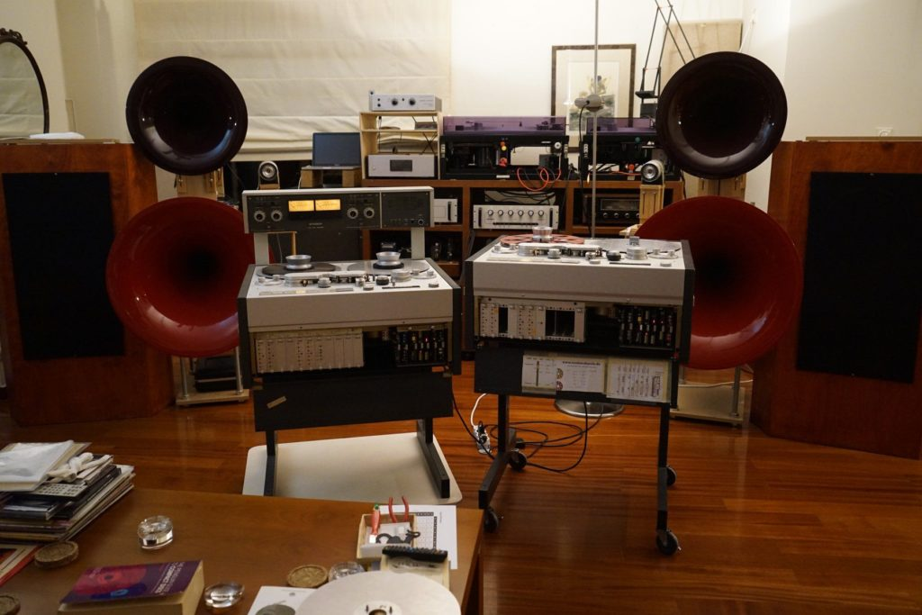 audiophile analog audio setup