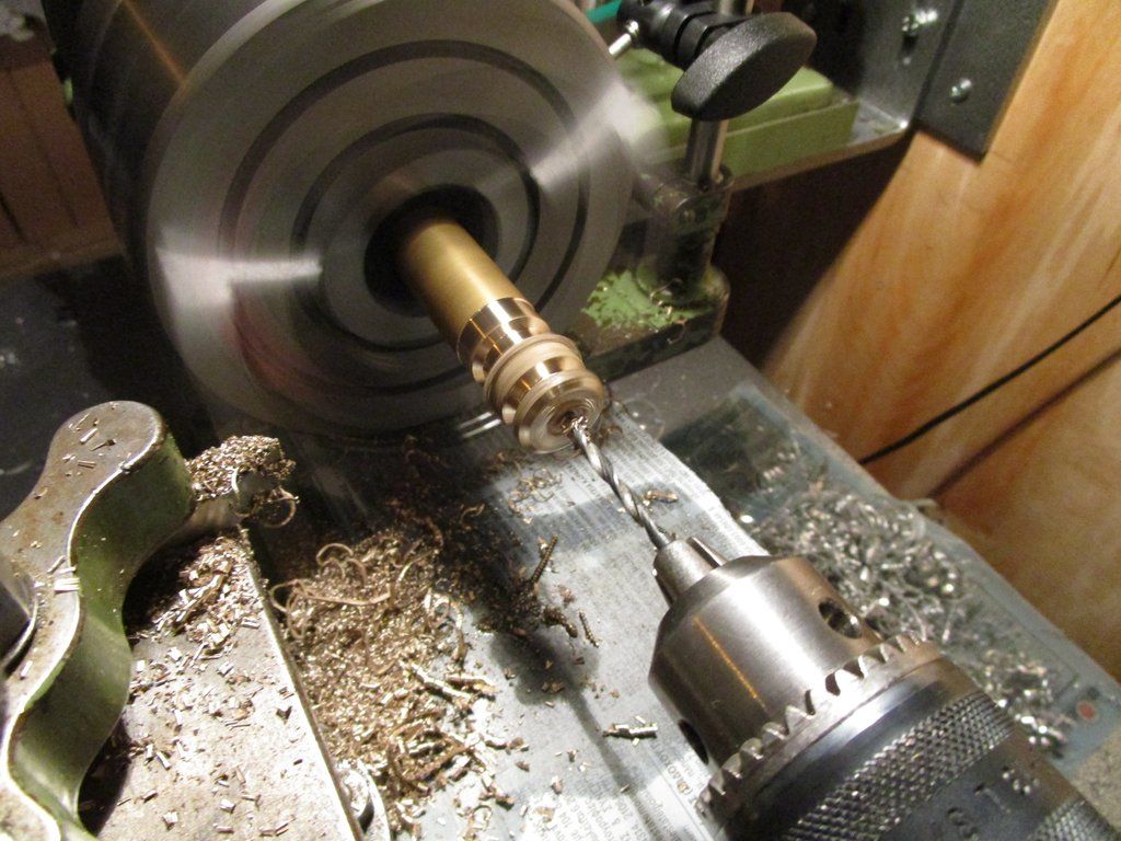 Lorch Lathe in action